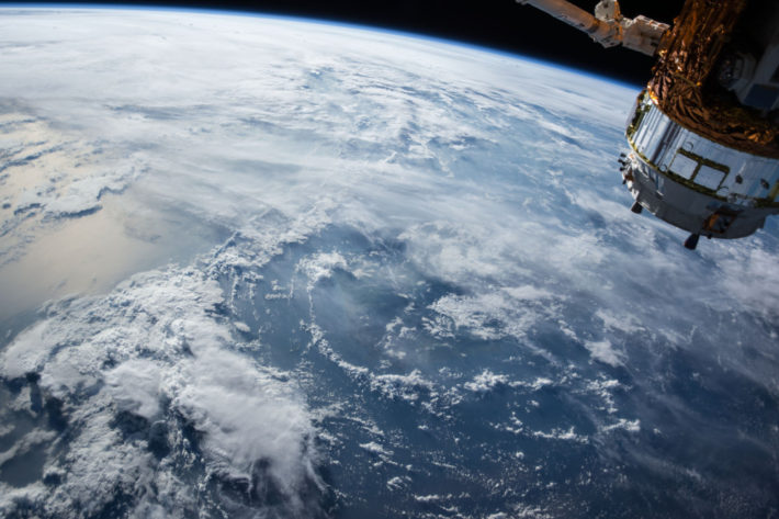 An image of earth from space by nasa