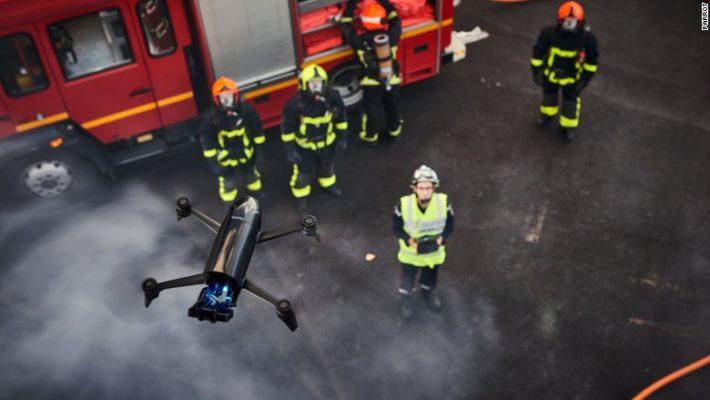 Drones για καταστάσεις έκτακτης ανάγκης