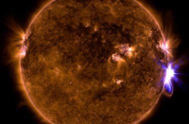 Οι Ηλιακές εκλάμψεις που συνέβησαν τον Σεπτέμβριο