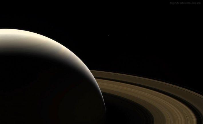 Εκπληκτικές φωτογραφίες του Cassini λίγο πριν τη συντριβή του στον Κρόνο
