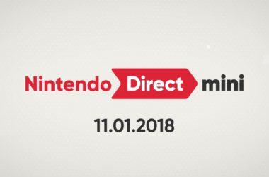 Το Nintendo Direct του Ιανουαρίου 2018