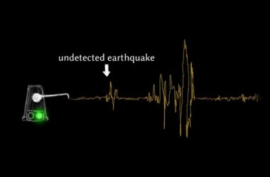 Ανιχνεύοντας σεισμούς με τη βοήθεια της τεχνητής νοημοσύνης