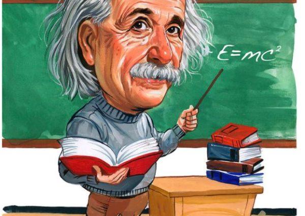 σκίτσο του Άλμπερτ Αϊνστάιν