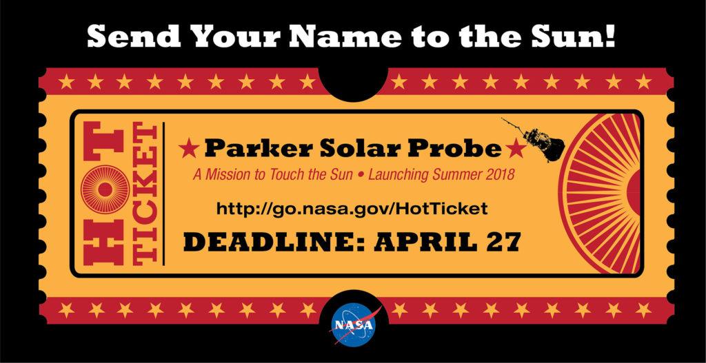 Το εισιτήριο για το Parker Solar Probe