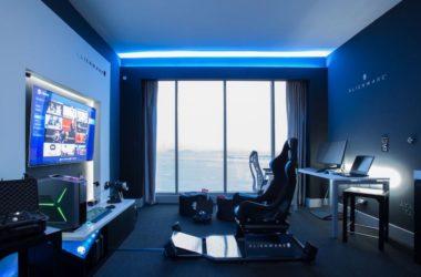 Το δωμάτιο ξενοδοχείου της Alienware στο ξενοδοχείο Hillton του Panama