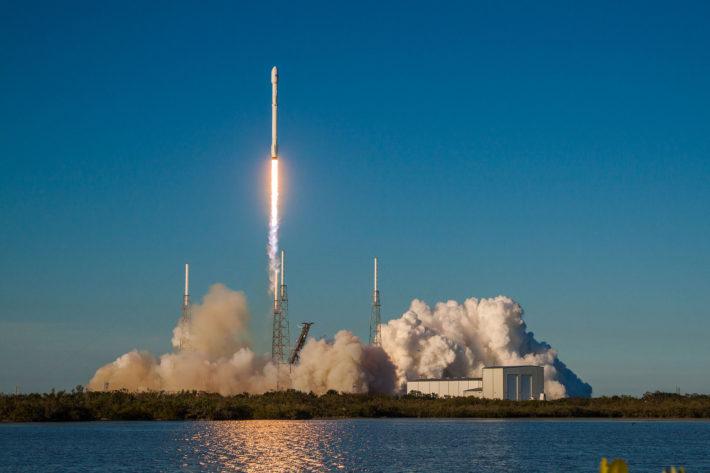 SpaceX Falcon 9 - TESS εκτόξευση