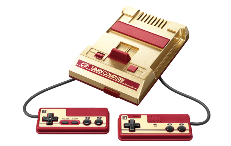 Gold-Red NES classic edition