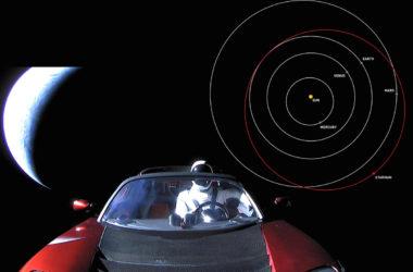 Που βρίσκεται τώρα ο Starman και το Tesla Roadster;